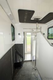 Horse Area with full length partition in The Equihunter Arena 3.5 tonne Horsebox