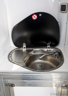 Equihunter Arena 3.5 Tonne Horsebox Sink Hob Combi Unit