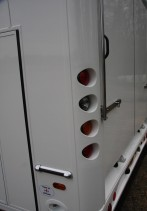 Tail Lights Set in Moulded Corner Post