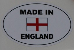 Proudly Made in England