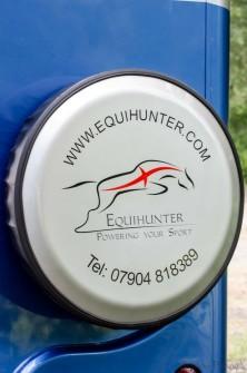 Equihunter Arena 3.5t Horsebox in Performance Blue