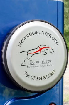 Equihunter Arena 3.5t Horsebox in Performance Blue