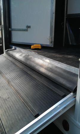 Ramp Hinge Rubber Gaiter - Stops Debris