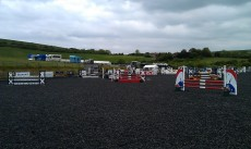 Team Equihunter Rider Libby Newman Competing at Pyecombe in Sussex