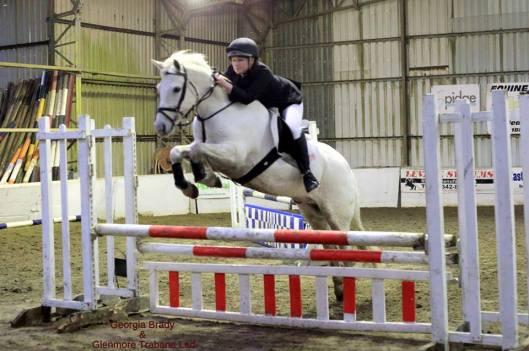 Georgia Brady riding Glenmore Trbane Lad at Golden Cross in Sussex
