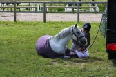 Libby Newman - Team Equihunter Relaxing