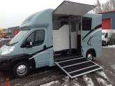 Equihunter Arena 3.5 Tonne Horsebox finished in BMW Mini Ice Blue