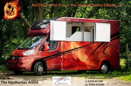 Arena Girl on Fire