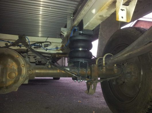 Air Suspension For Horseboxes