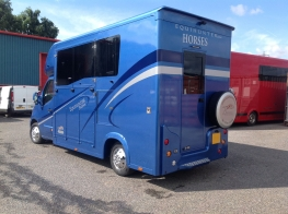 Equihunter 3.5 tonne Arena in BMW Estoril Blue