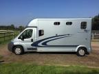 EQUI-TREK SONIC 5 - 3.5 TONNE HORSEBOX FOR SALE
