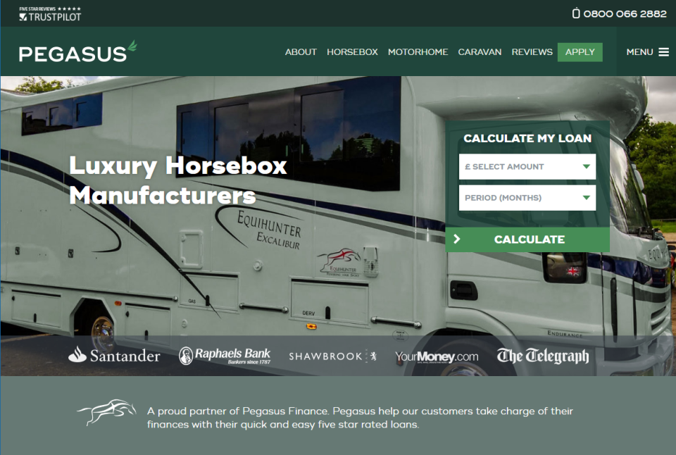 affordable flexible horsebox finance