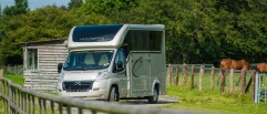 Equihunter Arena 3.5 Tonne Horsebox in Metallic Champagne Gold