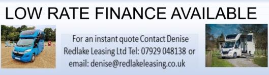 Horsebox Finance from Equihunter
