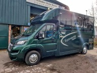 Equihunter Arena in British Racing Green