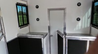 Equihunter WalkThru™ Breast Bar Hinged Groom's Door System