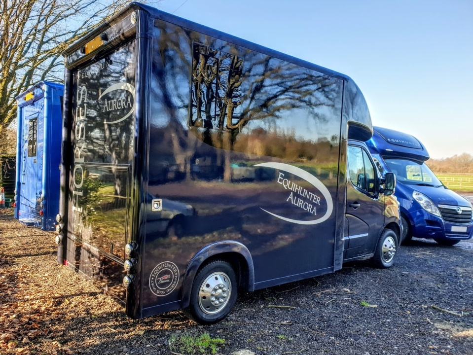 The Equihunter Aurora 3.5 or 3.9 Tonne Horsebox