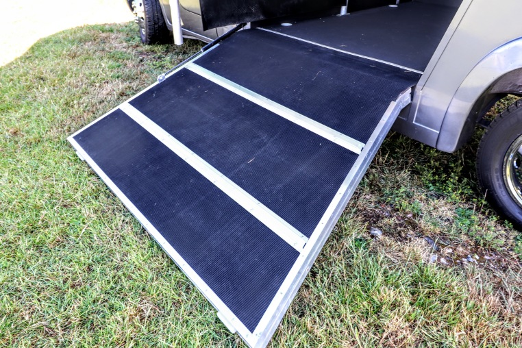 Equihunter Aurora Solid and Robust Lower Ramp Door