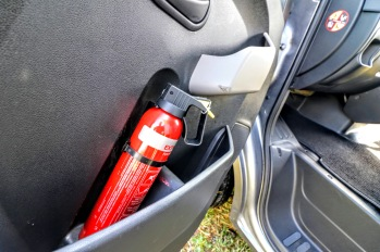 Equihunter Aurora In Cab Fire Extinguisher